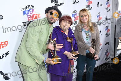 Agnes Varda Photo - 03 March 2018 - Santa Monica California - Agnes Varda 2018 Film Independent Spirit Awards - Press Room held at the Santa Monica Pier Photo Credit Birdie ThompsonAdMedia