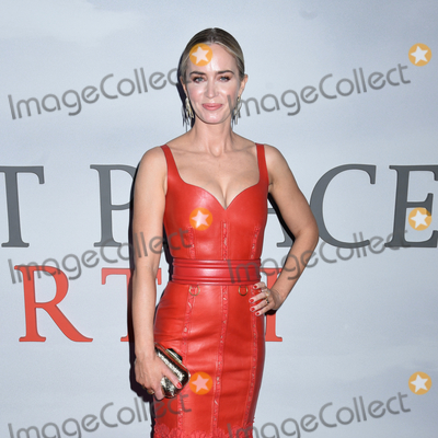Emily Blunt Photo - 08 March 2020 - New York New York - Emily Blunt at the World Premiere of A QUIET PLACE PART II in the Rose Theater at Jazz at Lincoln Center Frederick P Rose Hall Photo Credit LJ FotosAdMedia