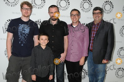 Atticus Shaffer Photo - 13 August 2011 - Beverly Hills California - Justin Roiland Atticus Shaffer Maxwell Atoms Noah Z Jones and Dana Snyder PaleyFest Family 2011 Presents Disneys Fish Hooks held at The Paley Center for Media Photo Credit Byron PurvisAdMedia