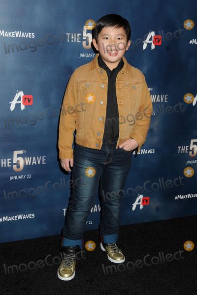 Albert Tsai Photo - 14 January 2016 - Los Angeles California - Albert Tsai The 5th Wave Los Angeles Premiere held at Pacific Theatres At The Grove Photo Credit Byron PurvisAdMedia