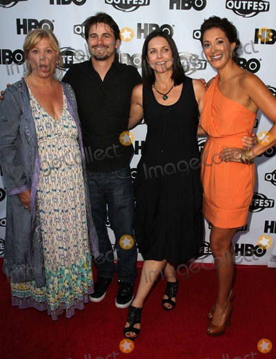 Anne Renton Photo - 17 July 2011 - West Hollywood California - Connie Cummings Jason Ritter Anne Renton Angelique Cabral 2011 Outfest Film Festival Screening Of The Perfect Family Closing Night- Arrivals  Held At The DGA Theatre Photo Credit Kevan BrooksAdMedia