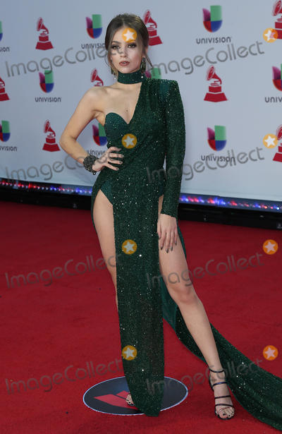 Ana Mena Photo - 15 November 2018 - Las Vegas NV - Ana Mena  2018 Latin Grammy arrivals at MGM Grand Garden Arena Photo Credit MJTAdMedia