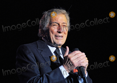 Tony Bennett Photo - 31 July 2020 - Legendary jazz crooner Tony Bennett turns 94 years old August 0320  File Photo An Evening with Tony Bennett (2013) at the Hamilton Convention Centre by Carmens Hamilton Ontario Canada Photo Credit Brent PerniacAdMedia
