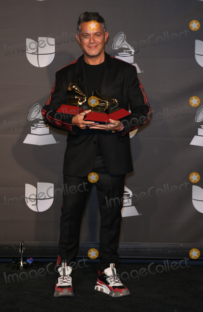 Alejandro Sanz Photo - 14 November 2019 - Las Vegas NV - Alejandro Sanz 2019 Latin Grammy Awards Press Room at MGM Grand Garden Arena Photo Credit MJTAdMedia