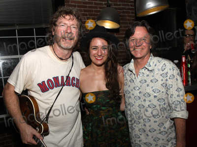 Jeff Hanna Photo - July 26 2011 - Nashville TN - (l-r) Award-winning Bluegrass artist Sam Bush newcomer Alyssa Bonagura and Jeff Hanna of the Nitty Gritty Dirt Band Artists musicians and songwriters came together at Mercy Lounge to help raise funds for Pete Huttlinger a widely respected guitarist and Nashville studio artist  Huttlinger has a congenital heart disease and is in need of a heart transplant Photo credit Dan HarrAdmedia