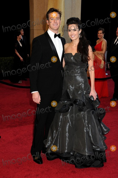 Armie Hammer Photo - 27 February 2011 - Hollywood California - Armie Hammer and Elizabeth Chambers 83rd Annual Academy Awards - Arrivals held at the Kodak Theatre Photo Byron PurvisAdMedia