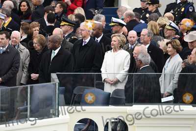 Jimmy Carter Photo - Former President Jimmy Carter  Former President Bill Clinton wait with former President George W Bush (R) at inauguration on January 20 2017 in Washington DC Donald Trump becomes the 45th President of the United States Photo Credit Pat BenicCNPAdMedia