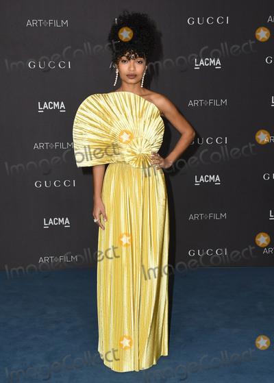 Yara Shahidi Photo - 02 November 2019 - Los Angeles California - Yara Shahidi 2019 LACMA Art  Film Gala Presented By Gucci held at LACMA Photo Credit Birdie ThompsonAdMedia