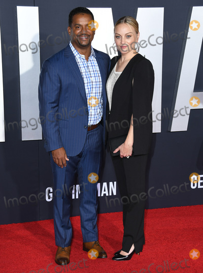Alfonso Ribeiro Photo - 06 October 2019 - Hollywood California - Alfonso Ribeiro Angela Unkrich Gemini Man Los Angeles Premiere held at TCL Chinese Theatre Photo Credit Birdie ThompsonAdMedia