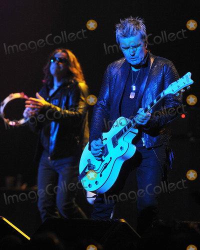 Ian Astbury Photo - 03 June 2012 - Pittsburgh PA - Lead vocalist IAN ASTBURY and guitarist BILLY DUFFY of the legendary British rock band THE CULT perform at a stop on their 2012 US Tour to support their new album Choice of Weapon held at the Stage AE  Photo Credit Devin SimmonsAdMedia