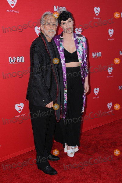 Neil Portnow Photo - 19 May 2016 - Los Angeles California - Neil Portnow Natasha Bedingfield Arrivals for the 12th Annual MusiCares MAP Fund Benefit Concert Honoring Smokey Robinson held at The Novo by Micosoft Photo Credit Birdie ThompsonAdMedia