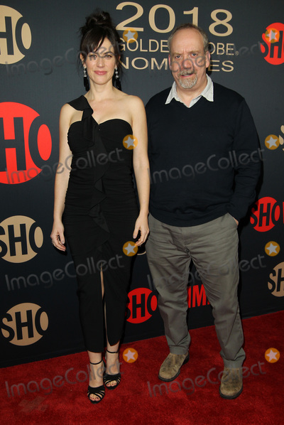Paul Giamatti Photo - 6 January 2018 - Los Angeles California - Maggie Siff and Paul Giamatti Showtime Golden Globe Nominee Celebration held at the Sunset Tower Hotel in Los Angeles Photo Credit AdMedia