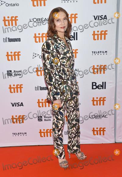 Isabelle Huppert Photo - 06 September  2018 - Toronto Ontario Canada Isabelle Huppert Greta Premiere - 2018 Toronto International Film Festival at the Ryerson Theatre Photo Credit Brent PerniacAdMedia