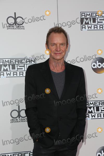 Sting Photo - 20 November 2016 - Los Angeles California - Sting 2016 American Music Awards held at Microsoft Theater Photo Credit PMAAdMedia