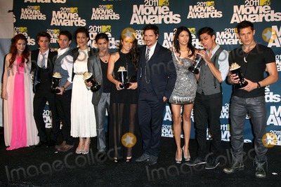 Kiowa Gordon Photo - 5 June 2011 - Universal City California - Bryce Dallas Howard Xavier Samuel Jackson Rathbone Julia Jones Booboo Stewart Nikki Reed Peter Facinelli Tinsel Korey Kiowa Gordon and Alex Meraz 2011 MTV Movie Awards - Press Room held at Gibson Amphitheatre Photo Credit AdMedia