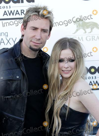 Avril Lavigne Photo - 19 May 2013 - Las Vegas Nevada - Avril Lavigne and fianc Chad Kroeger 2013 Billboard Music Awards held at the MGM Grand Garden Arena Photo Credit MJTAdMedia