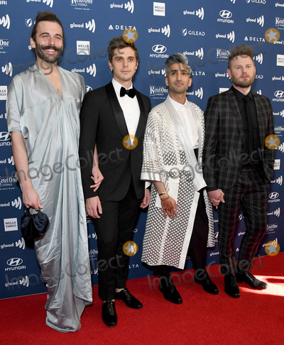 Antoni Porowski Photo - 28 March 2019 - Beverly Hills California - Jonathan Van Ness Antoni Porowski Tan France Bobby Burke 30th Annual GLAAD Media Awards held at Beverly Hilton Hotel Photo Credit Birdie ThompsonAdMedia