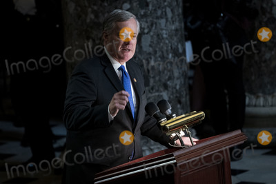 Elijah Cummings Photo - United States Representative Mark Meadows (Republican of North Carolina) speaks during a memorial service for late United States Representative Elijah Cummings (Democrat of Maryland) in National Statuary Hall at the US Capitol in Washington DC US on Thursday Oct 24 2019 Cummings a key figure in Democrats impeachment inquiry and a fierce critic of US President Donald J Trump died at the age of 68 on October 17 due to complications concerning long-standing health challenges Credit Al Drago  Pool via CNPAdMedia