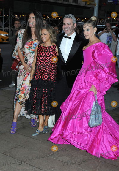 Amy Sedaris Photo - 26 September 2019 - New York New York - Amy Sedaris Andy Cohen and Sarah Jessica Parker New York City Ballet 2019 Fall Fashion Gala held at  David Koch Theatre at Lincoln Center Photo Credit AdMedia