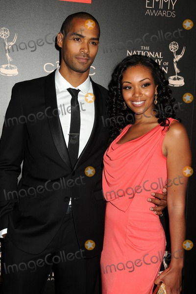 Nathan Owens Photo - 16 June 2013 - Beverly Hills California - Nathan Owens Mishael Morgan 40th Annual Daytime Emmy Awards - Arrivals held at the Beverly Hilton Hotel Photo Credit Byron PurvisAdMedia