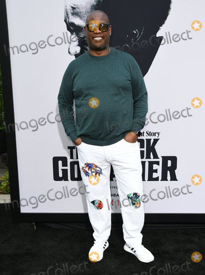 Andre Harrell Photo - 03 June 2019 - Los Angeles California - Andre Harrell Netflixs The Black Godfather Los Angeles Premiere held at Paramount Theater Photo Credit Birdie ThompsonAdMedia
