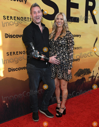 Ant Anstead Photo - 23 July 2019 - Beverly Hills California - Ant Anstead Christina Anstead Discoverys Serengeti Los Angeles Special Screening held at The Wallis Annenberg Center for the Performing Arts Photo Credit Birdie ThompsonAdMedia