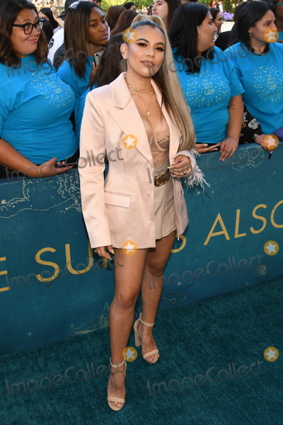Adelaine Morin Photo - 13 May 2019 - Los Angeles California - Adelaine Morin The Sun Is Also A Star Warner Bros World Premiere held at Pacific Theatres at The Grove Photo Credit Billy BennightAdMedia