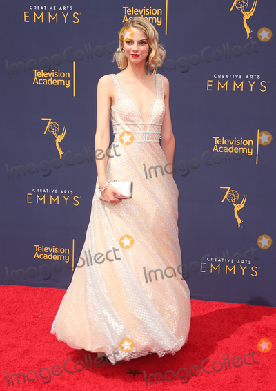 Allie Evans Photo - 09 September 2018- Los Angles California - Allie Evans  2018 Creative Arts Emmy Awards - Day 2 held at the Microsoft Theater LA LIVE Photo Credit Faye SadouAdMedia
