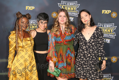 Ashly Burch Photo - 24 September 2019 - Hollywood California - Imani Hakim Ashly Burch Jessie Ennis Charlotte Nicdao The Premiere Of FXs Its Always Sunny In Philadelphia Season 14  held at TCL Chinese Theatre Photo Credit FSadouAdMedia