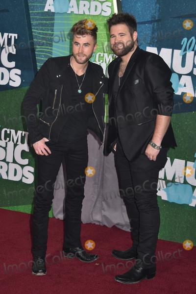 Colton Swon Photo - 10 June 2015 - Nashville Tennessee - The Swon Brothers Zach Swon Colton Swon 2015 CMT Music Awards held at Bridgestone Arena Photo Credit Laura FarrAdMedia