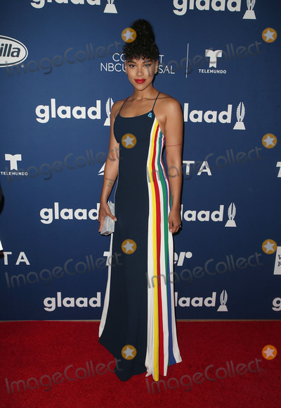 Alexandra Shipp Photo - 11 April 2018 - Beverly Hills California - Alexandra Shipp GLAAD Media Awards Rising Stars Luncheon held at The Beverly Hilton Photo Credit F SadouAdMedia