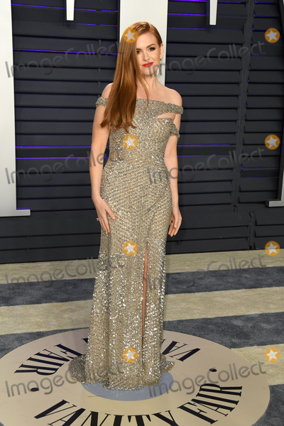 Isla Fisher Photo - 24 February 2019 - Los Angeles California - Isla Fisher 2019 Vanity Fair Oscar Party following the 91st Academy Awards held at the Wallis Annenberg Center for the Performing Arts Photo Credit Birdie ThompsonAdMedia