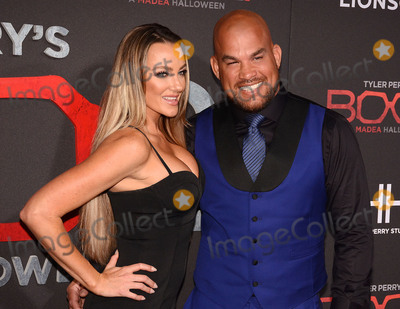 Nicole Miller Photo - 16 October 2017 - Los Angeles California - AMBER NICOLE MILLER AND TITO ORTIZ Tyler Perrys Boo 2 A Madea Halloween Los Angeles Premiere held at Regal LA Live Stadium 14 Photo Credit Billy BennightAdMedia