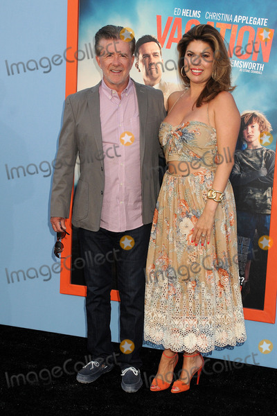 Alan Thicke Photo - 27 July 2015 - Westwood California - Alan Thicke Tanya Callau Vacation Los Angeles Premiere held at the Regency Village Theatre Photo Credit Byron PurvisAdMedia