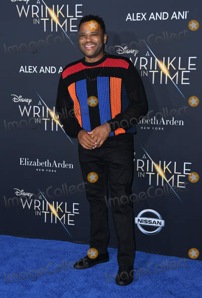 Anthony Anderson Photo - 26 February 2018 - Hollywood California - Anthony Anderson Disneys A Wrinkle In Time World Premiere held at El Capitan Theatre Photo Credit Birdie ThompsonAdMedia