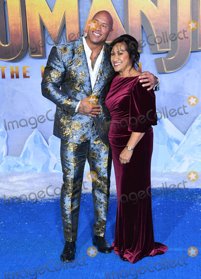 Ata Johnson Photo - 09 December 2019 - Hollywood California - Dwayne Johnson Ata Johnson Jumanji The Next Level Los Angeles Premiere  held at TCL Chinese Theatre Photo Credit Birdie ThompsonAdMedia