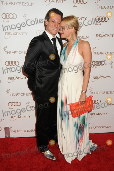 Alice Evans Photo - 14 January 2012 - Los Angeles California - Ioan Gruffudd and Alice Evans 5th Annual Art Of Elysium Heaven Gala held at Union Station Photo Credit Byron PurvisAdMedia