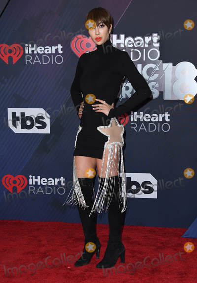 Jackie Cruz Photo - 11 March 2018 - Inglewood California - Jackie Cruz 2018 iHeart Radio Awards held at The Forum Photo Credit Birdie ThompsonAdMedia
