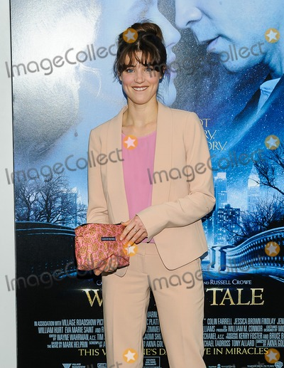 Lucy Griffiths Photo - 11 February 2014 - New York New York- Lucy Griffiths Winters Tale World Premiere Photo Credit Mario SantoroAdMedia