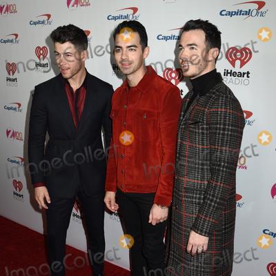 Joe Corr Photo - 13 December 2019 - New York New York - Nick Jonas Joe Jonas and Kevin Jonas at  iHeart Radio Z100s 2019 Jingle Ball at Madison Square Garden Photo Credit LJ FotosAdMedia