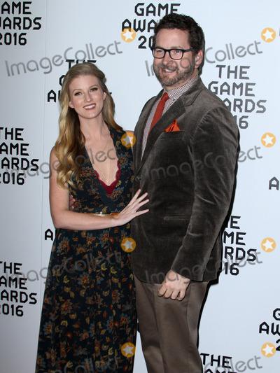Ashley Jenkins Photo - 1 December 2016 - Los Angeles California - Ashley Jenkins and Michael Burnie Burns The Game Awards 2016 held at the Microsoft Theatre Photo Credit AdMedia