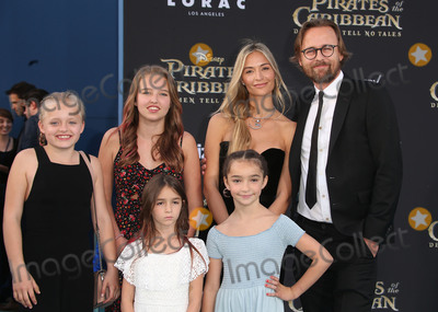 Joachim Rnning Photo - 18 May 2017 - Hollywood California -  Joachim Rnning Kristin Rnning Children Disneys Pirates Of The Caribbean Dead Men Tell No Tales Los Angeles Premiere held at the Dolby Theatre Photo Credit AdMedia