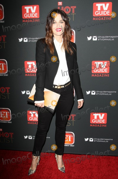 Robin Tunney Photo - 04 November 2013 - Hollywood California - Robin Tunney TV Guide Magazine Annual Hot List Party held at at The Emerson Theatre Photo Credit Kevan BrooksAdMedia