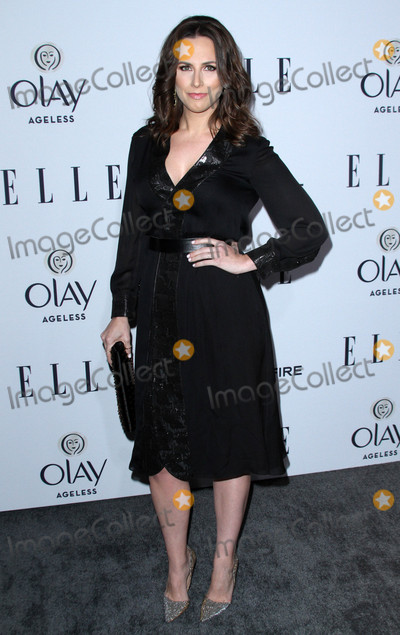Alicia Menendez Photo - 20 January 2016 - Los Angeles California - Alicia Menendez ELLEs Women In Television Celebration presented by Hearts on Fire Diamonds and Olay held at the Sunset Tower Hotel Photo Credit AdMedia