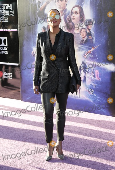 Aisha Tyler Photo - 26 March 2018 - Hollywood California - Aisha Tyler Premiere of Warner Bros Pictures Ready Player One held at Dolby Theatre Photo Credit PMAAdMedia