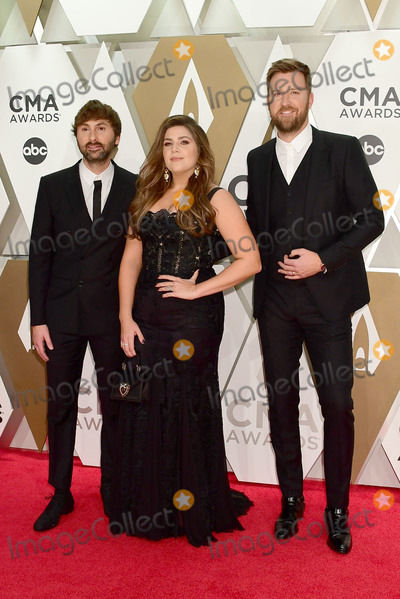 Dave Haywood Photo - 13 November 2019 - Nashville Tennessee - Charles Kelley Dave Haywood Hillary Scott Lady Antebellum 53rd Annual CMA Awards Country Musics Biggest Night held at Music City Center Photo Credit Laura FarrAdMedia