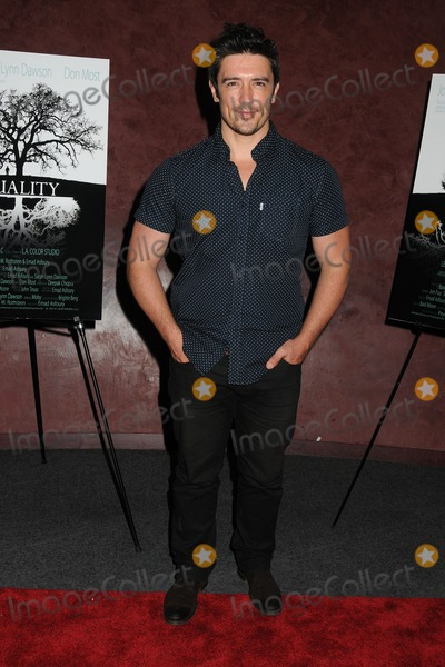 Adam Croasdell Photo - 3 September 2014 - Los Angeles California - Adam Croasdell Duality Short Film Premiere held at The Landmark Theater Photo Credit Byron PurvisAdMedia