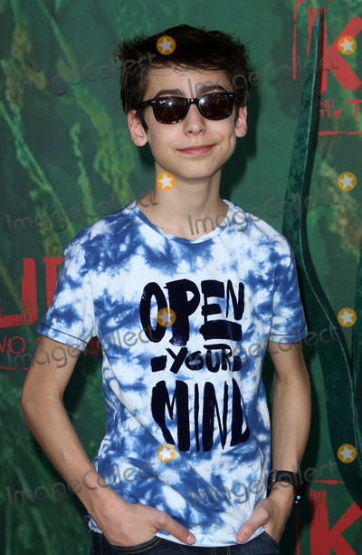 Aidan Gallagher Photo - 14 August 2016 - Los Angeles California - Aidan Gallagher Kubo and The Two Strings World Premiere held at the AMC Universal City Walk Universal Studios Hollywood in Los Angeles Photo Credit AdMedia