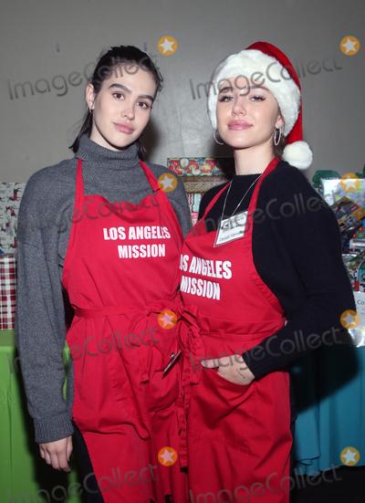 Amelia Gray Photo - 23 December 2019 - Los Angeles California - Amelia Gray Hamlin Delilah Belle Hamlin Christmas Celebration On Skid Row  held at Los Angeles Mission Photo Credit FSAdMedia