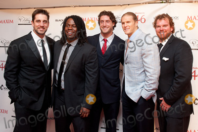 Aaron Rodgers Photo - 03 May 2013 - Louisville Kentucky -  Aaron Rodgers Josh Boyd Clay Matthews Eric Wood MAXIM Fillies  Stallions Derby Eve Party 2013 hosted by Makers 46 and Blackrock Thoroughbreds held at Mellwood Art and Entertainment Center Photo Credit Ryan PavlovAdMedia